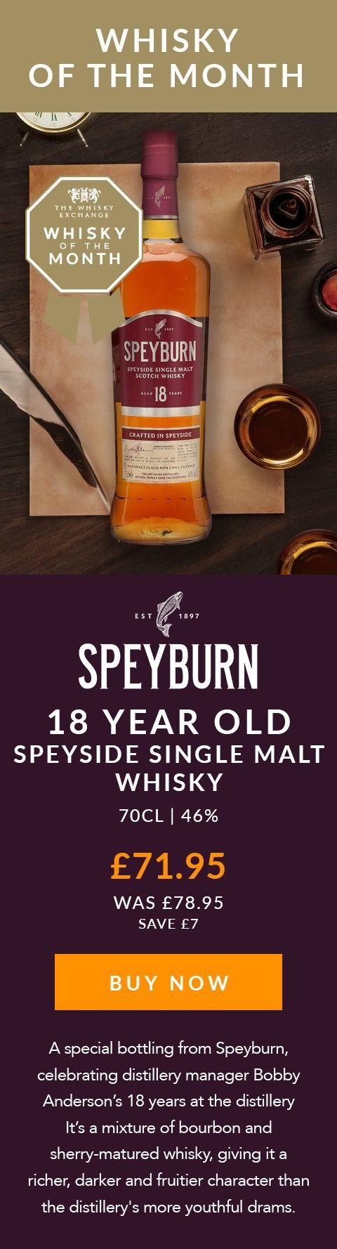 Speyburn 18 Year Old